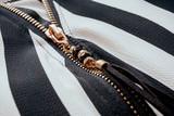 Cerniera della camicia close up