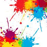 Fototapety splatter Color background illustration vector design