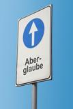 Schild 173 - Aberglaube