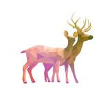 polygon deer animal