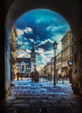 street in Cracow / Cracow , in Poland , Europe