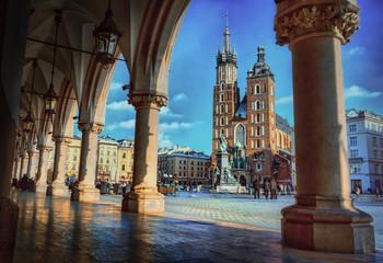 Kraków kolumny