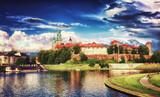 Castel Wawel in Cracow / Krakow , in Poland , Europe