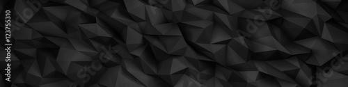 stylish black header structure