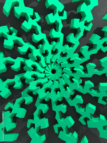 3d Abstract Design - 123799973