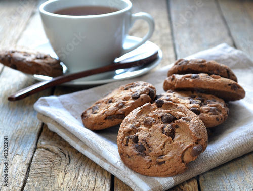 Cookies et café. Poster