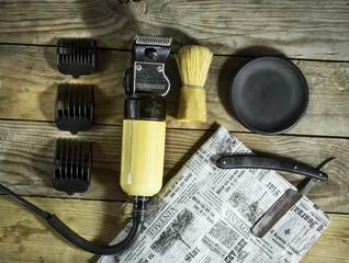 Vintage set of Barber.