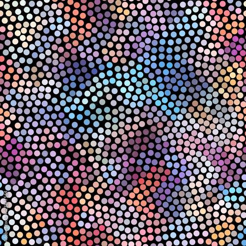 Geometric abstract pattern. - 123877564