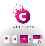 Creative Dots Logo Design Corporate Identity.