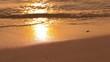 Quadro Sea waves on the tropical sandy beach