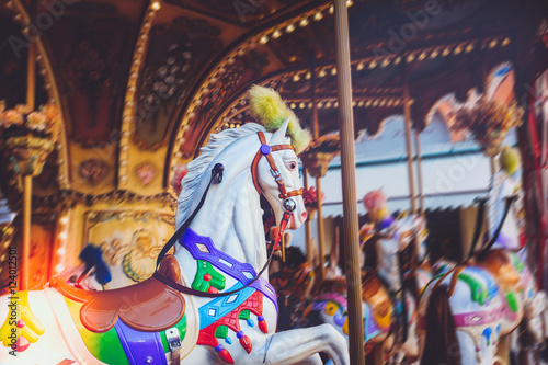 Luna park - carousel ride series
