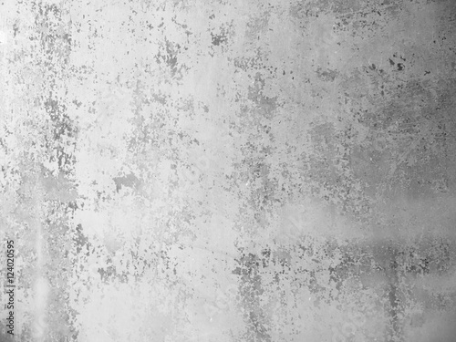grungy white background glass painted with white paint texture as a retro pattern layout - 124020595