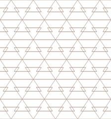 Vector seamless pattern. Geometric background. Lines texture. © khaladok