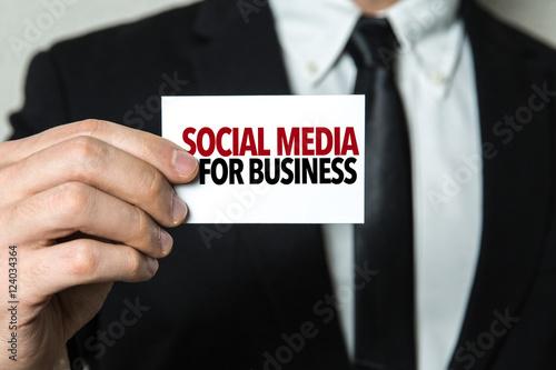 Poster Social Media For Business