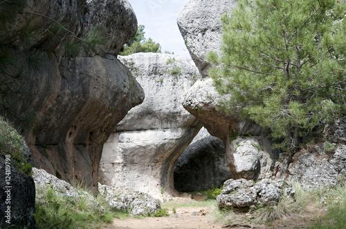Aluminium Betoverde Bos Ciudad Encantada (Enchanted City) - Spain