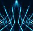 3D abstract lights lens flare background