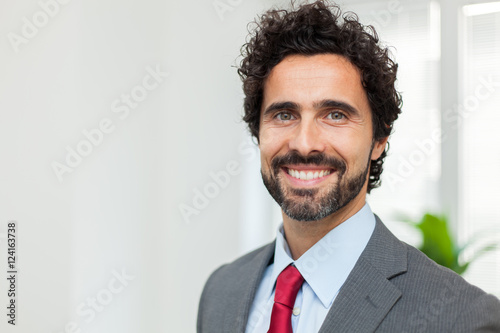 Confident businessman Poster