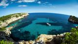 Widok z klifu, Majorka, Hiszpania - 124166323