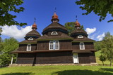 Greek catholic wooden church, UNESCO, Nizny Komarnik, Slovakia
