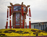 Large Chinese Lantern Decoration Tiananmen Square Beijing