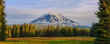 Beautiful Colorful Image of Mount Adams - 124195724
