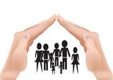 proteggere la famiglia - 124207505