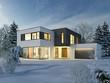 Haus Kubus Winter 1