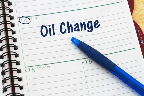 Scheduling your car's oil change appointment