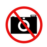 forbidden to take pictures
