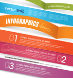 Design template for Infographics, website or brochures