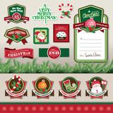 Christmas design & decorations elements