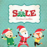 Christmas Sale Poster Design