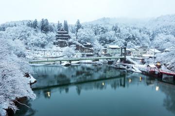 Winter Landcape lake