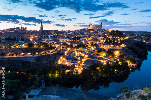 Toledo at dusk Spain © vichie81