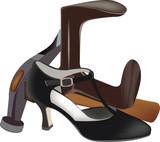 scarpa in riparazione