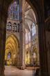 Interior de Santa Maria de León Cathedral, España
