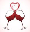 Quadro Wine Love Toast