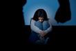 Domestic Violence Closeup
