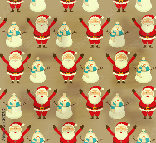 Cotton fabric Christmas Decoration Pattern