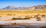semi-desert landscape of Navarra