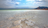 LAKE ASSAL,DJIBOUTI-FEBRUARY 06,2013:The saltiest lake in the world. The lowest point of Africa - 124421740