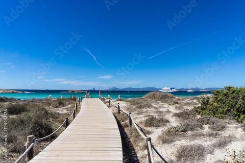 In den Dünen von Formentera / playa des ses illetes