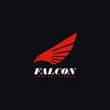 Falcon Logo,Vector Logo Template