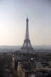 Paris view from Arc de Triumph, France