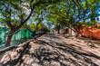 San Antonio Telayacapan, Mexico. The street where we lived.