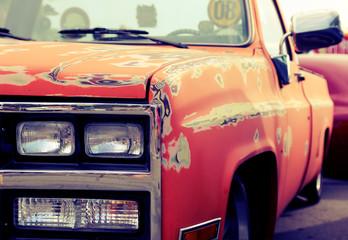 Classic retro car