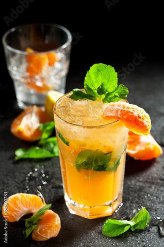 Tangerine Mojito Cocktail