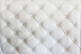 quilted leather sofa covering closeup © angor75