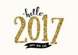 2017 Greeting Card Template - 124520987