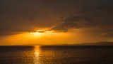 Zachód słońca, Majorka, Hiszpania - 124524792